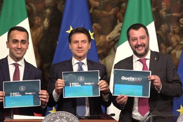 Quota 100, la misura bandiera di Salvini dispendiosa e inutile