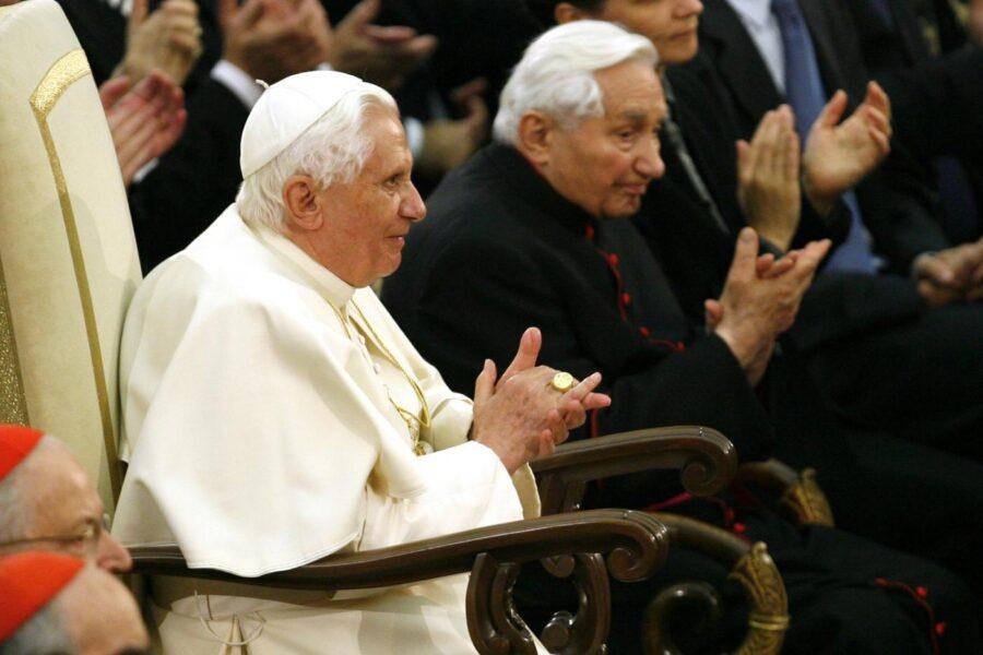È morto Georg Ratzinger, fratello del Papa emerito Benedetto XVI