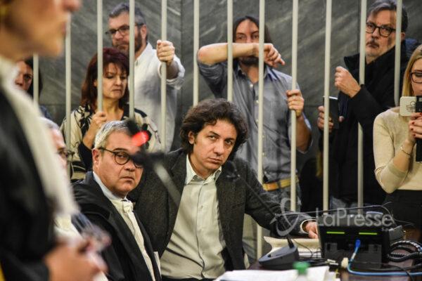 Foto LaPresse/Matteo Corner 23/12/2019 Milano, Italia Cronaca Processo a Marco Cappato in Corte d Assise Nella foto: Marco Cappato