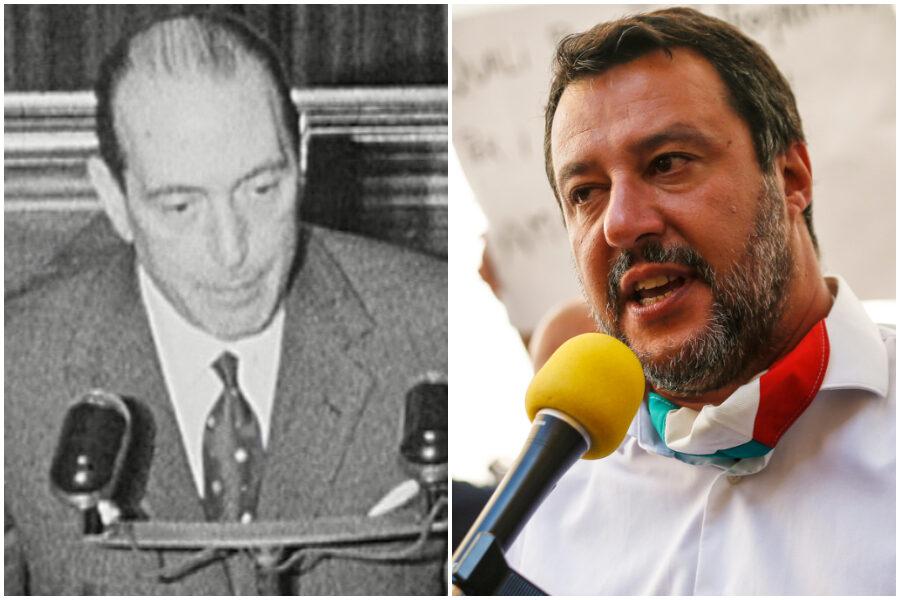 Escludere Salvini dal governo è democrazia così come nel 1960 con Tambroni e il Msi