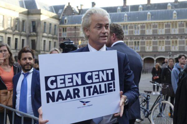 """La rabbia di Wilders, alleato di Salvini, per l'accordo europeo: """"All'Italia 82 miliardi di regali con i soldi olandesi"""""""