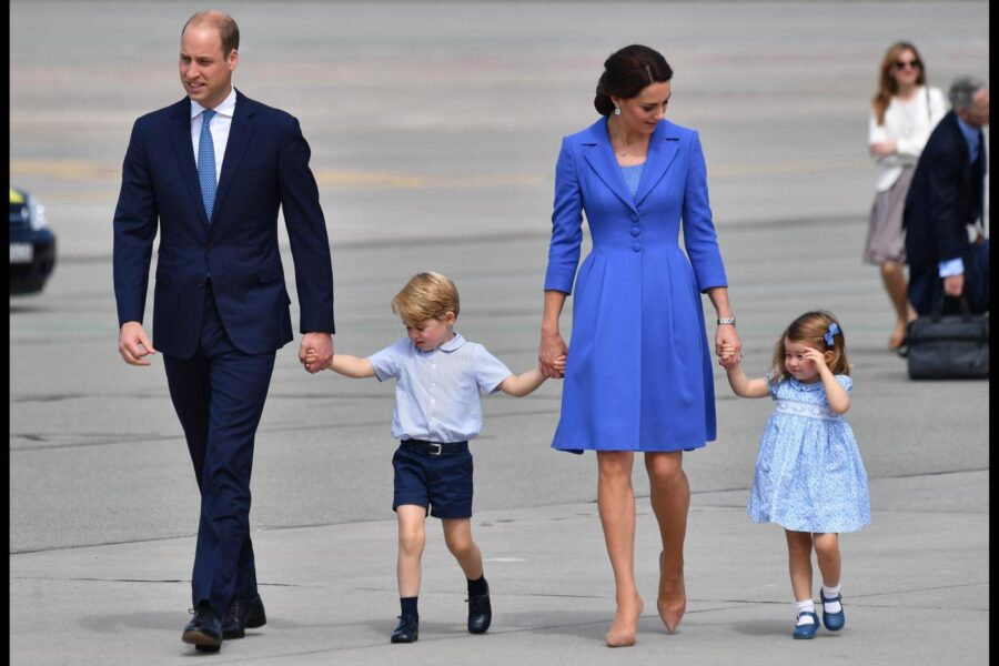 """Cosa è il metodo """"Chat Sofa"""" usato da William e Kate Middleton contro i capricci dei tre figli"""
