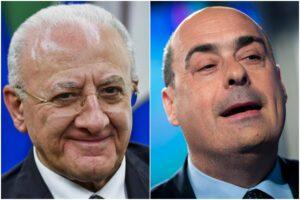 Governatori Pd e la lotta al Covid-19: quale è il modello? De Luca o Zingaretti?