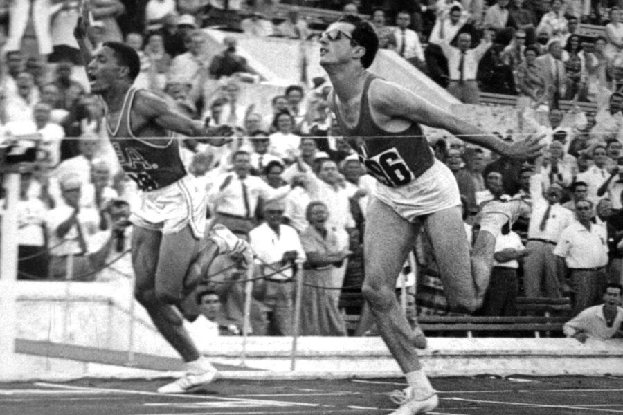 Olimpiadi di Roma 1960, il fulmine Berruti brucia tutti sui 200 piani