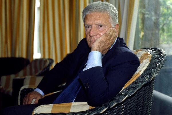 ©lapresse archivio storico cultura politica anni '90 Sergio Zavoli nella foto: il giornalista e Senatore Sergio Zavoli