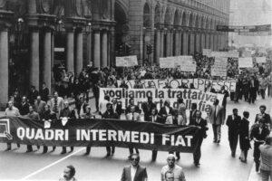 La storia della marcia dei quarantamila del 1980 e il ruolo di Cesare Romiti