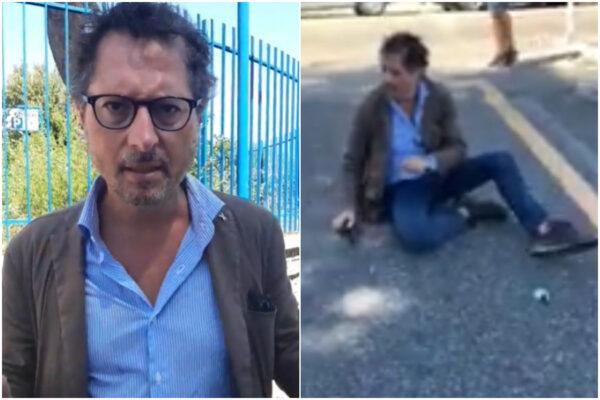 Francesco Emilio Borrelli aggredito, calci e pugni al San Giovanni Bosco: i video