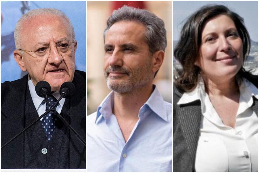 Elezioni Regionali Campania, exit poll e proiezioni in tempo reale: De Luca annienta Caldoro e Ciarambino