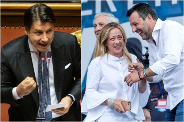 Migranti, Conte come Meloni e Salvini: la sinistra tace
