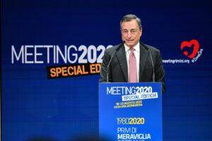 """L'allarme di Mario Draghi: """"Col Covid a rischio il futuro dei giovani, bisogna dar loro di più"""""""