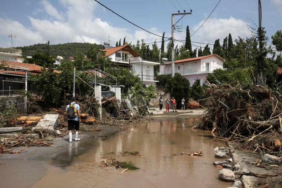Grecia, tempesta colpisce isola Eubea: almeno 7 morti e un disperso