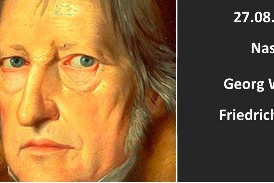 A 250 anni dalla nascita di Hegel