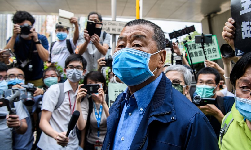 Hong Kong, arrestato il tycoon democratico Jimmy Lai