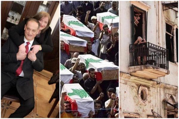 """Maria racconta l'inferno di Beirut: """"Mio marito e mia figlia salvi, qui da mesi giocano con il dollaro"""""""