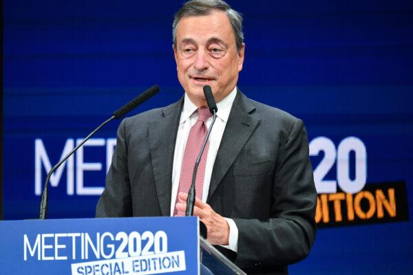 """Mario Draghi: """"La guerra non è finita, ma la ricostruzione deve ripartire"""""""