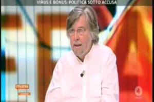 """Piero Sansonetti: """"I politici potevano chiedere i bonus, è il decreto che è stato fatto male"""""""