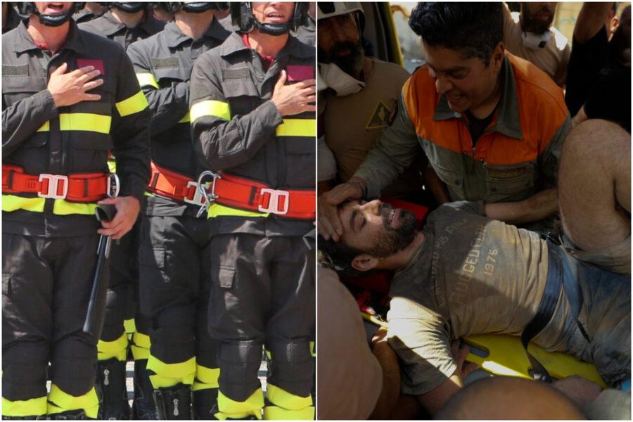 Strage Beirut, team italiano dei vigili del fuoco in viaggio verso il Libano