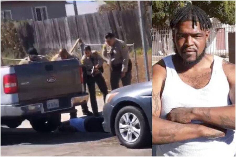 """Afroamericano ucciso dalla polizia a Los Angeles dopo una """"infrazione sulla bicicletta"""", scoppia la protesta"""