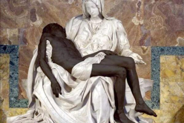 """""""Che schifo Gesù negro!"""", gli 'esteti' sovranisti fanno pietà"""