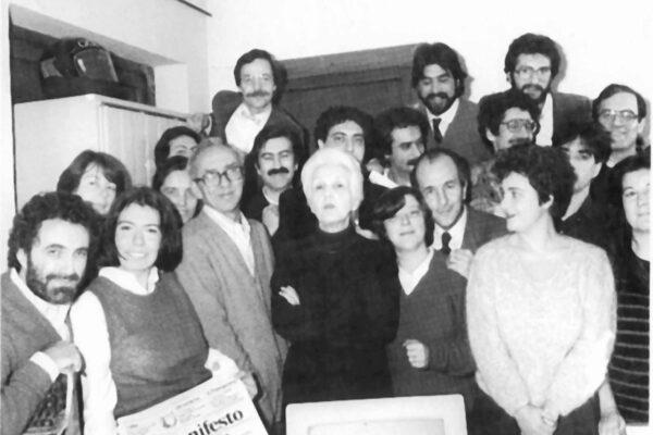 Rossana Rossanda e le ex 'ragazze del Manifesto' che ne spiavano sguardi e mosse