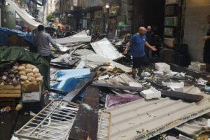 Bomba d'acqua a Napoli, tragedie sfiorate al Vomero e alla Pignasecca