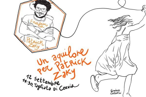 """""""Un aquilone per Patrick Zaky"""": continua la battaglia dei familiari e di Amnesty International"""