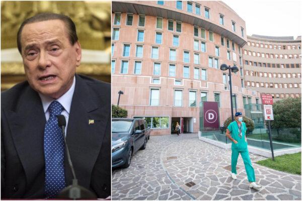"""Le condizioni Berlusconi: """"Ricoverato perché paziente a rischio"""""""