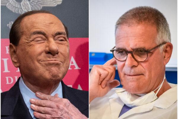 """Berlusconi smentisce Zangrillo: """"Io tra i primi 5 al San Raffaele per forza del virus"""""""