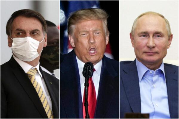 """IgNobel 2020 a Trump, Bolsonaro e Putin: i leader mondiali """"premiati"""" per la gestione del Coronavirus"""