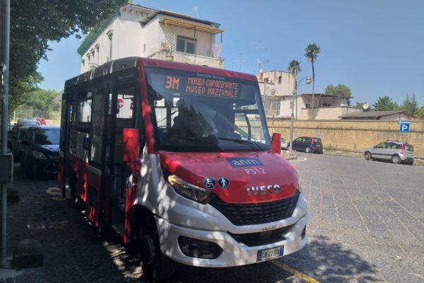"""Nasce """"3M"""": la nuova linea di bus collegherà 3 importanti musei napoletani. Bellenger: """"Capodimonte non è più irraggiungibile"""""""