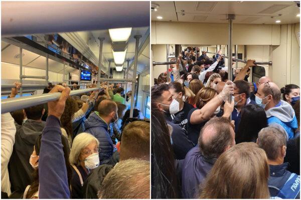"""Coronavirus, le vere sardine sono sui mezzi pubblici: """"Viaggiamo schiacciati mentre voi fate teatrini politici"""""""