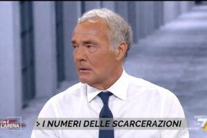 """""""Mi fa schifo vedere i mafiosi a casa"""" lo scontro tra Giletti e Caiazza su La7"""