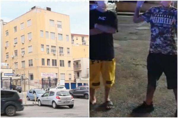Niente cibo da fuori, giovani positivi al covid-19 scavalcano e fuggono dall'ospedale: la diretta e le menzogne