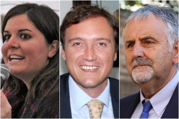 Alessandra Nardini, Leonardo Marras e Vincenzo Ceccarelli