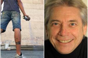 """Jorit dedica un murales a Nino D'Angelo, il cantante: """"Non ci credo, ho le lacrime agli occhi"""""""
