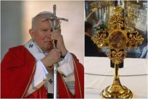 Clamoroso furto nel Duomo di Spoleto, rubata la reliquia di papa Giovanni Paolo II