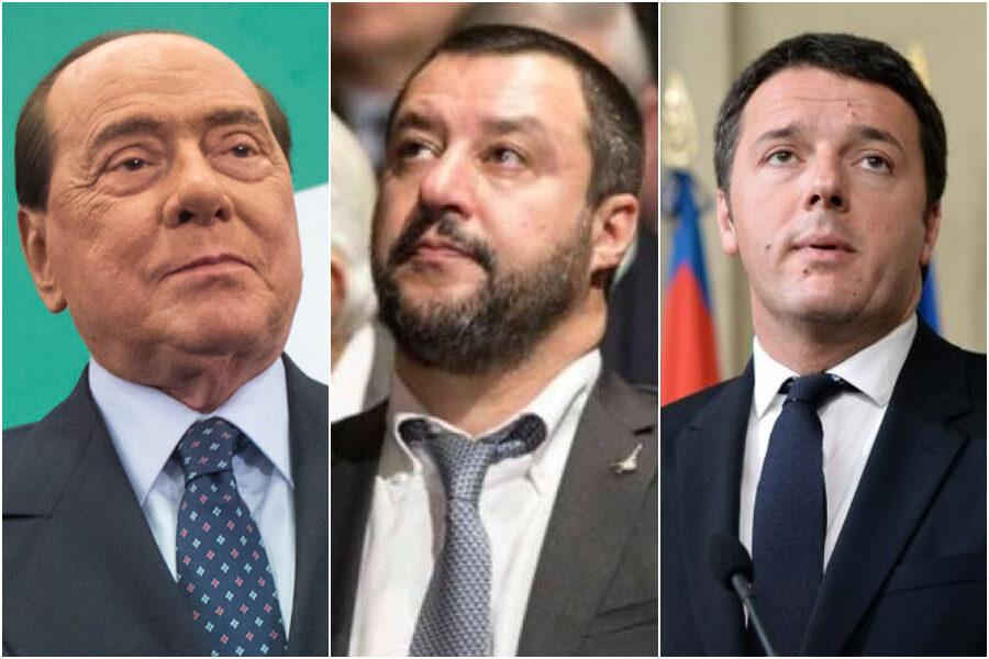 Dopo Berlusconi e Renzi il circo mediatico ha un nuovo nemico: Matteo Salvini