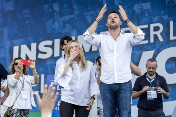 Salvini e Meloni e le teorie di Le Bon su folla e potere