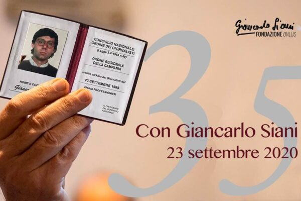"""Lucarelli, Ordine Campania, """"Legalità e lavoro vero ai giovani nel nome di Giancarlo Siani"""""""
