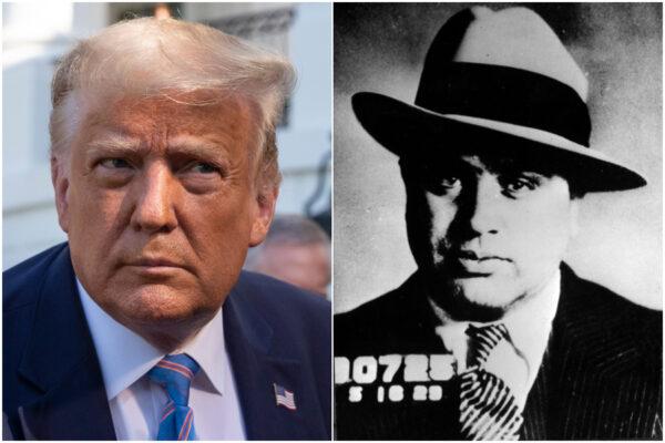 Trump come Al Capone, nei guai per aver evaso le tasse