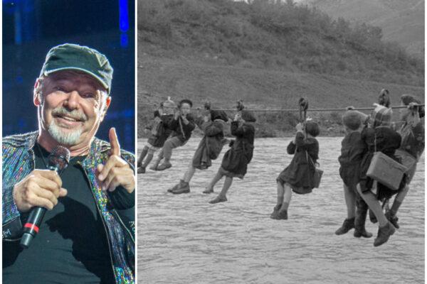 """Scuola, Vasco Rossi fa gli auguri agli alunni con una foto d'epoca: """"È l'unica soluzione a carceri e ignoranza"""""""