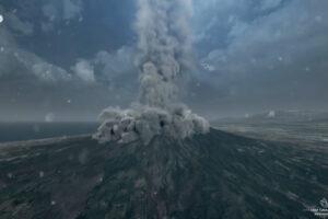 [VIDEO] Come esploderà il Vesuvio, l'animazione mostra quello che potrebbe accadere