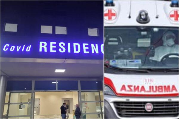 Campania, ecco il Covid residence e i nuovi posti letto: mancano sanitari, ambulanze in tilt