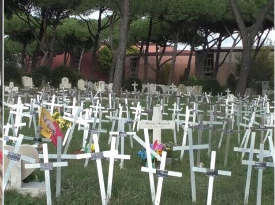 """Cimitero dei feti, via libera della giunta capitolina: """"Basta nomi delle donne sulle croci"""""""