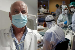 """""""Nella lotta alla pandemia mandati tutti allo sbaraglio"""": parla il medico napoletano sopravvissuto al Covid"""