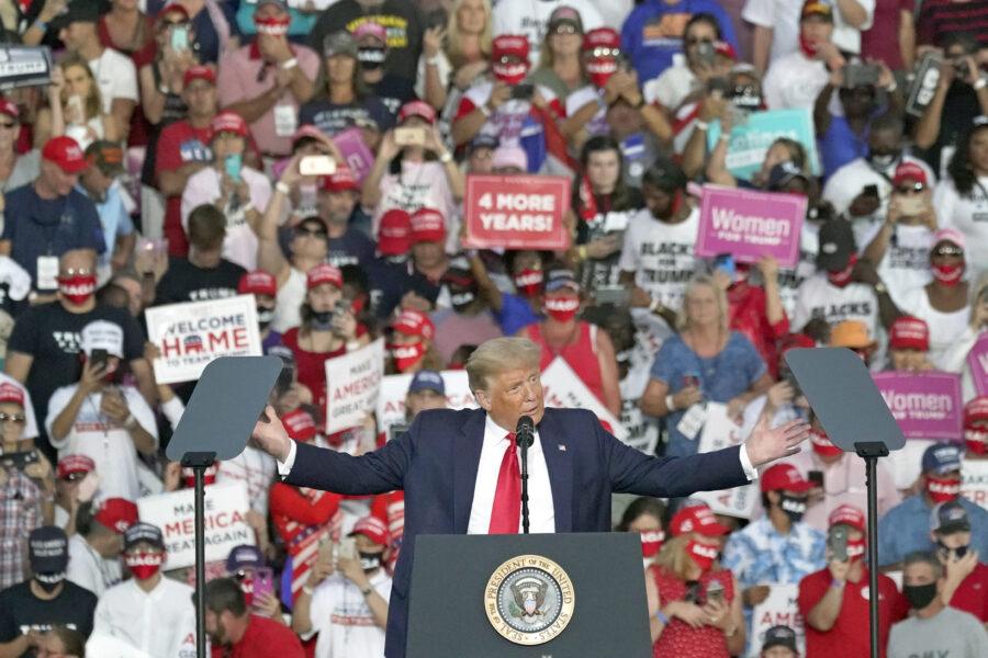 Il solito vizio della stampa progressista, la caccia al mostro (che stavolta è Trump)