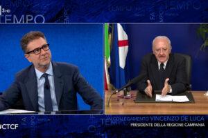 Vincenzo De Luca a Che Tempo che Fa, il video integrale dell'intervista di Fabio Fazio