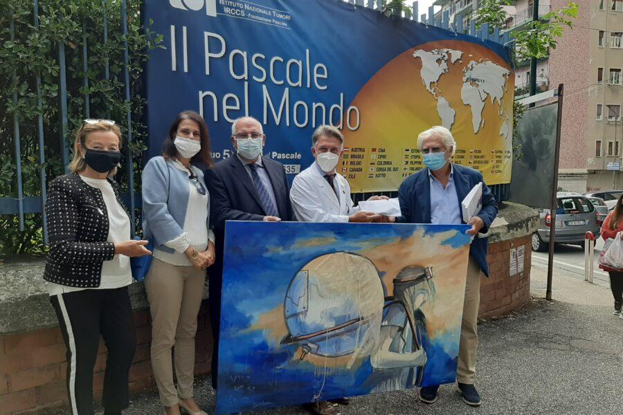 Al Pascale di Napoli l'arte diventa strumento di terapia per i pazienti oncologici
