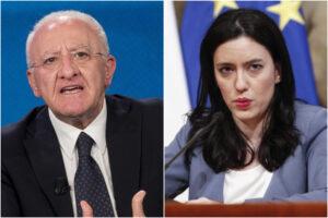 """Scuole chiuse in Campania, Azzolina contro De Luca: """"Decisione gravissima, è un accanimento il suo"""""""