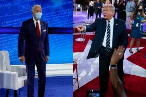 Elezioni USA, duello a distanza tra Biden e Trump: il presidente scivola ancora sui complottisti di QAnon